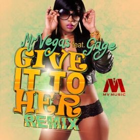 Realest Entertainment© - GIVE IT TO HER (DANCEHALL REMIX) - MV MUSIC - 2014 Cover Art