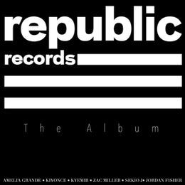Republic Records PARODY WORLD - REPUBLIC RECs Soundtrack Cover Art