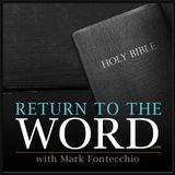 Return to the Word - If Only I May Know You (John 5:31-47) Cover Art