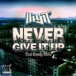 Ripynt - Never Give It Up Cover Art