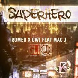 Romeo - SuperHero feat MacJ Cover Art
