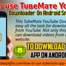 Darryl S  Adams - How To Use TubeMate YouTube Downloader On Android