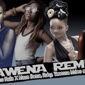 AWENA (RMX) - Alice Kella & Vanessa Mdee, Ruby, Maua Sama, Ibrah