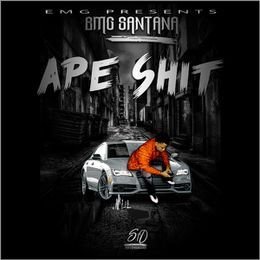 SantanaGotBandz - Ape Shit Cover Art