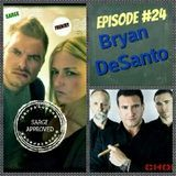Sarge Approved - Episode #24 Bryan DeSanto Cover Art