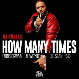 DJ Khaled - How Many Times (Feat. Chris Brown, Lil Wayne, Big Sean & SB)