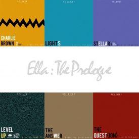 ScienZe - Ella: The Prologue EP Cover Art