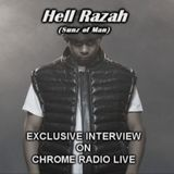 seendadream - Chrome Radio #175 W/ Special Guest Hell Razah (Sunz of Man) Cover Art