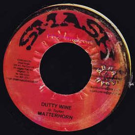 Dutty wine