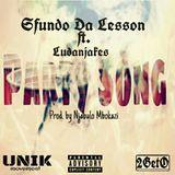 Sfundo Da Lesson - Party Song ft. Njakes x Ntokozo Cover Art