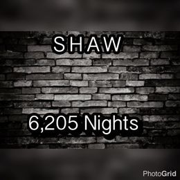 ShawTheGreat1 - 6,205 Nights Cover Art