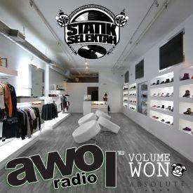 Showoff Radio - AWOL Radio Volume Won Cover Art