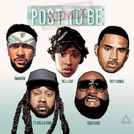 Post To Be (Remix) (CDQ)