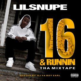 Sliktron.us - 16 &  Runnin Tha Mixtape Cover Art