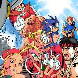 Solo Wing - Live And Learn (Sega VS Capcom Menu/SA3 Remix) Cover Art