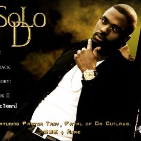 SoLo D - *Tupac Tribute* The 7 Track Theory Book 2 Cover Art