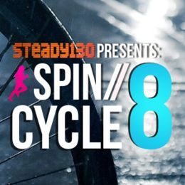 Steady130 - Spin/Cycle, Vol. 8 Cover Art