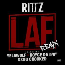 "LAF (Remix) ft. Yelawolf, Royce Da 5'9"" & KXNG CROOKED"