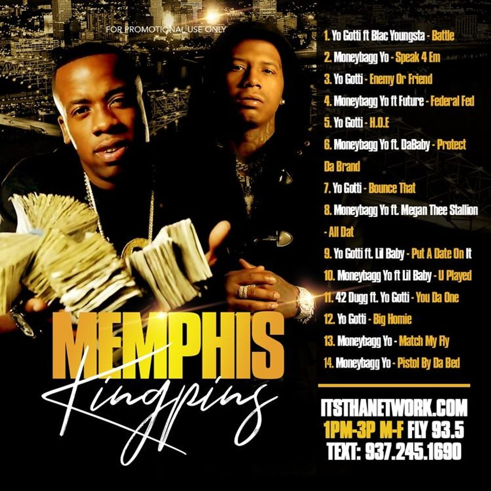Memphis Kingpins Mixed By Dj E Dub By Yo Gotti Moneybagg Yo Listen On Audiomack
