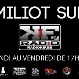 Super DJ Emiliot - DJ Emiliot @ Radio KIF Brussels Cover Art