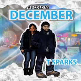 T-SPARKS - As Cold As December Cover Art