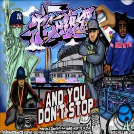 T-SPARKS - And You Don't Stop Cover Art
