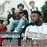 TAYBABYNOLABEL - SHE KNOWS Cover Art