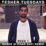 Tesher - Nashe Si Chad Gayi Bhangra Remix Cover Art