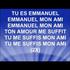 Emmanuel mon ami