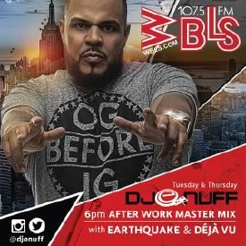 WBLS AFTERWORK MASTER MIX (DanceHall Additon) 1-15-16