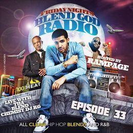 The Blend Chemist (DJKG) - 100.1 The Heat (New Clean Hip Hop Trap & R&B) Episode #33 Cover Art