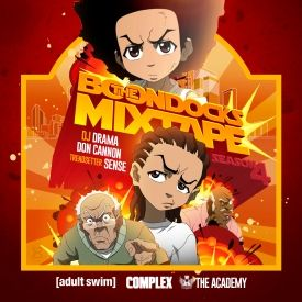 DJBooth - The BoonDocks Mixtape Cover Art
