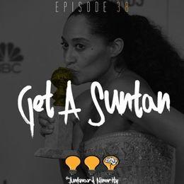 The Awkward Minority - Get A Suntan Cover Art