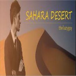 thelazyguy - Sahara Desert Cover Art