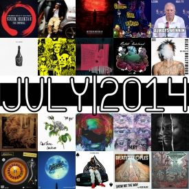 themilkcrate - Best Of July 2014 Cover Art