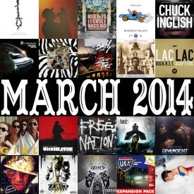 themilkcrate - Best Of March 2014 Cover Art
