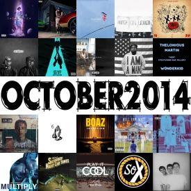 themilkcrate - Best Of October 2014 Cover Art