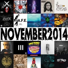 themilkcrate - Best Of November 2014 Cover Art