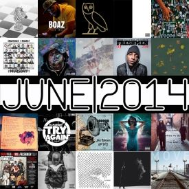 themilkcrate - Best Of June 2014 Cover Art