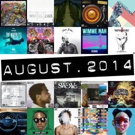 themilkcrate - Best Of August 2014 Cover Art