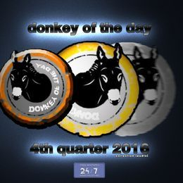THEREALDJECKO - DONKEY OF THE DAY (FOURTH QUARTER 2016) Cover Art