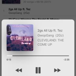 therealyungtone - CLEVELAND: THE COME UP Cover Art