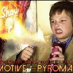 theslyshow - PYROMANIA MIXED BY DJ MOTIVE Cover Art