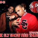 theslyshow - RNB THUGS #4 [ MIXED BY DJ MOTIVE] Cover Art