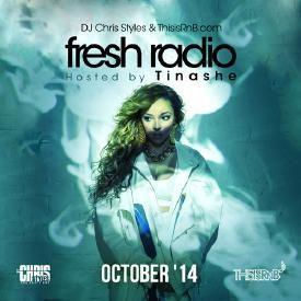 Fresh Radio October '14 (Hosted by Tinashe)