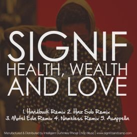 ThroatChopU - Health, Wealth & Love (Remixes) Cover Art