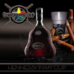 Concentration Kamp - Hennessy In Ma Cup Cover Art