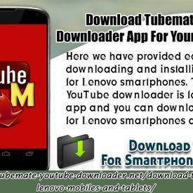 Download TubeMate YouTube Downloader App For Your Lenovo Device
