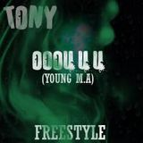 Tonyworldwide - Young M.A -OOOUUU- (Freestyle) Cover Art