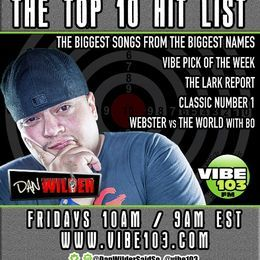 The Top 10 Hit List - The Top 10 Hit List (January 13, 2017) Cover Art